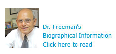 Read Dr. Freeman's Biographic Information here